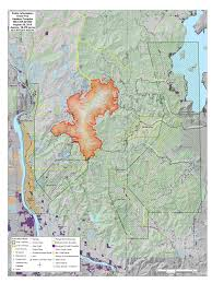 Current Wildfire Map Idaho by Kaniksu Fires Up To 18 500 Acres But Priest Lake Area Open For