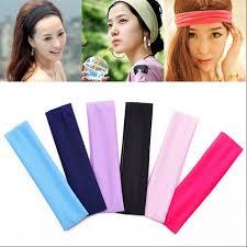 cheap headbands cheap wholesale hair band best for sports polyester women