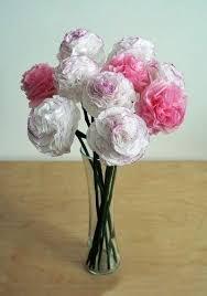 Creative Vase Ideas Creative Ideas Diy Beautiful Tissue Paper Flowers