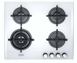 piano cottura vetro bianco slf 460 lb de longhi cookers