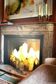 fireplace personable fireplace candle ideas for living ideas