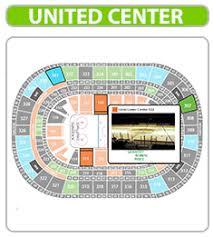 United Center Floor Plan United Center United Center Seating Chart