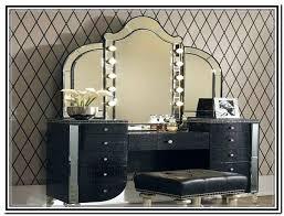 vanity set with lights new black makeup desk vanities vanity table set with stool within