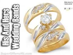 cheap gold wedding rings his and hers wedding bands white gold cheap white gold wedding