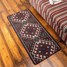 Washable Bedroom Rugs Online Store Tidetex Vintage Ethnic Style Geometric Patterns