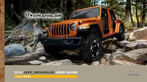 2001 jeep wrangler owners manual 2018 jeep wrangler owner s manuals leaked and they tell us much