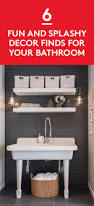 541 best bathroom design images on pinterest bathroom ideas 6 fun and splashy bathroom decor finds