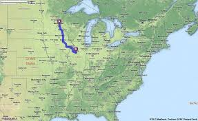 Indiana travel directions images 45 best student map routes images students driving jpg