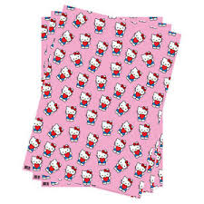 hello wrapping paper 3 sheets hello folded gift wrap wrapping paper birthday
