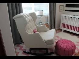 Most Comfortable Rocking Chair For Nursing Fashionable Rocking Chairs For Nursery Youtube