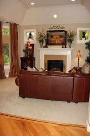 Best Brown Sofa Images On Pinterest Tuscan Living Rooms - Tuscan style family room