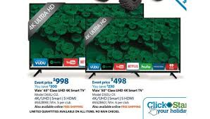 black friday sams club vizio d65u d2 and 498 vizio d50u d1 sam u0027s club 4k uhd tv black