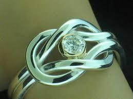 cape cod diamond square knot ring cape cod rings goldfingercapecod