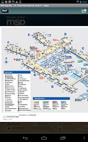 msp airport terminal map minneapolis airport msp radar android apps on play