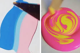 paint mixing instagram 23 paint mixing videos that are relaxing af