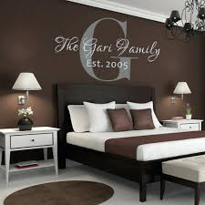 custom monogram wall decals customized wall graphics with names