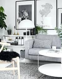 idee deco salon canape noir salon noir et blanc gris en 50 photos remarquables idee deco