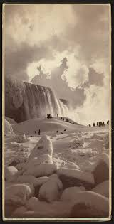 caught eyes frozen falls picture library congress