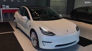 tesla model 3 tesla model 3 interior details features emerge from pair of videos