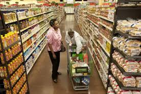walmart grocery stores push the boston globe