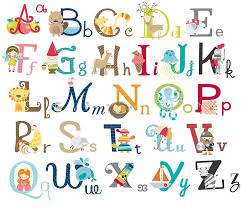 big graphic alphabet letters kids room nursery wall decal stickers big graphic alphabet letters kids room nursery wall decal stickers