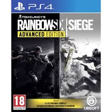 fnac siege rainbow six siege advanced edition ps4 sur playstation 4 jeux