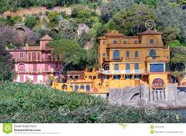 Portofino Italy Map Paraggi Portofino Italy Stock Photo Image 39791543