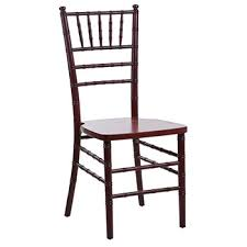 mahogany chiavari chair party chair rentals in new york