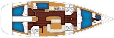 eros yacht layout beneteau cyclades 50 5 adriatic sailing