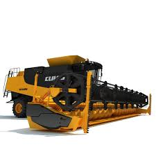claas lexion combine harvester 3d model agricultural machinery