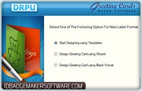 greeting card maker software design new year festival