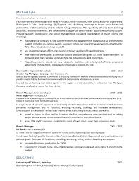 Sample Operations Manager Resume by Michael Kyle Resume Hr Operations Generalist