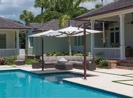 Wind Resistant Patio Umbrella Commercial U0026 High Wind Umbrellas Villa Terrazza Patio U0026 Home 707