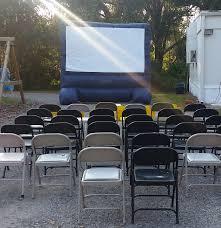 backyard inflatable movie screen u2013 premium event services