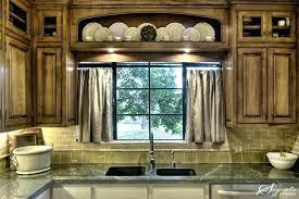 over the sink kitchen curtains kitchen sink window ideas pictures
