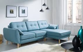 Corner Sofa In Living Room - leather and fabric cheap sofas uk msofas