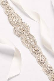 satin sash belt bridal sashes wedding dress belts david s bridal