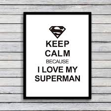 superman home decor superman quote canvas art print poster wall pictures for home