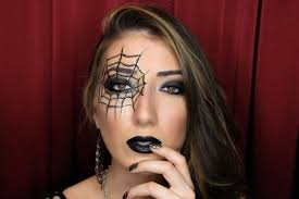 spider web nails makeup halloween tutorial youtube