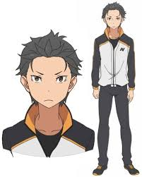subaru anime character natsuki subaru character 78944 anidb