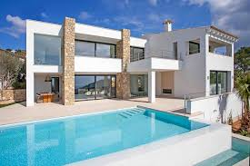modern villa modern villa in port andratx with stunning sea and port views