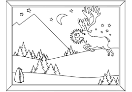 christmas coloring book word