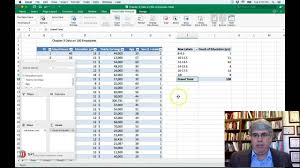 How To Make A Relative Frequency Table How To Make A Frequency Table In Excel 2016 For Mac Example