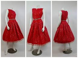christmas cocktails vintage 1950 u0027s red lace tea dress christmas chantilly lace 50 u0027s