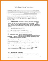 7 rent lease agreement pdf agenda example