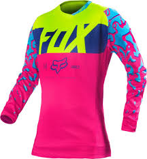 female motocross gear 23 22 fox racing womens 180 jersey 235497
