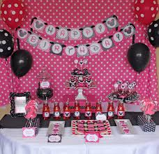 interior design amazing minnie mouse theme party decorations