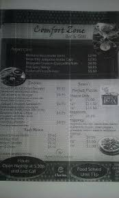 Comfort Zone Restaurant Chicken Tenders Acompañadas De Papas Compradas En El Restaurant