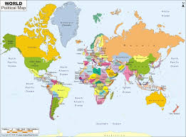 Africa Map With Countries by World Maps With Countries Europe Physical Map Freeworldmaps Net