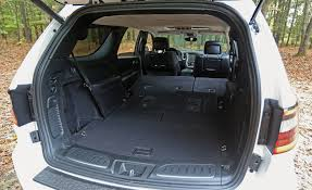 Most Interior Space Suv 2017 Dodge Durango In Depth Model Review Car And Driver